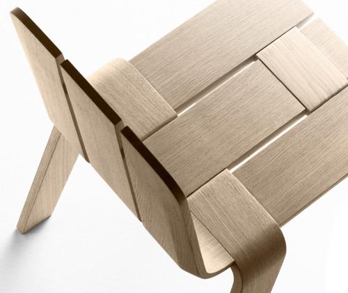 Chaise bandes saski par jean louis iratzoki pour alki for Air france assistance chaise roulante