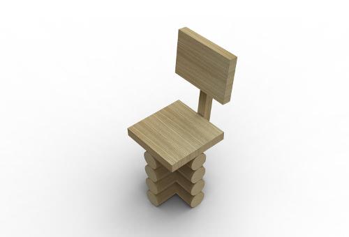 forest chair par thomas schnur blog esprit design. Black Bedroom Furniture Sets. Home Design Ideas