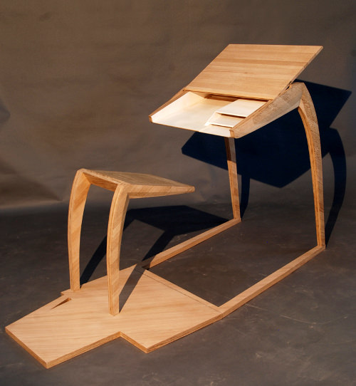 pupitre le bureau m taphorique par julie legros blog esprit design. Black Bedroom Furniture Sets. Home Design Ideas