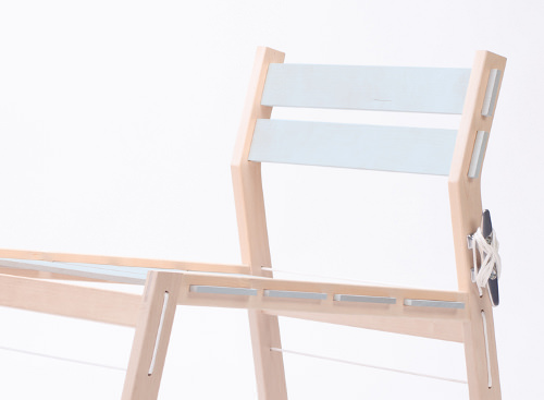 Cleat la rocking chair en DIY par Tom Chung