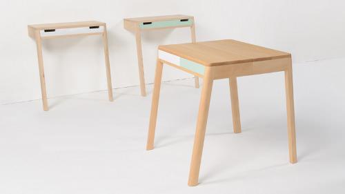 petite console scandinave. Black Bedroom Furniture Sets. Home Design Ideas