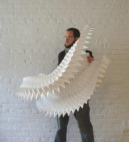 Salon Decoration Italie : Matthew shlian ingénieur papier esprit design