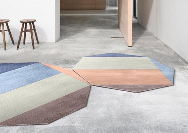 Nova le tapis graphique par studio frst blog esprit design for Tapis salon graphique