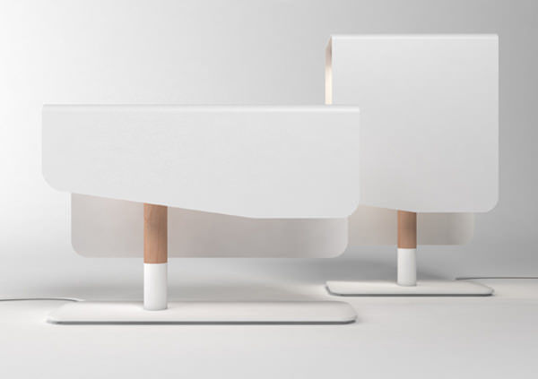 Lampes L01 et L02 par Florent Degourc