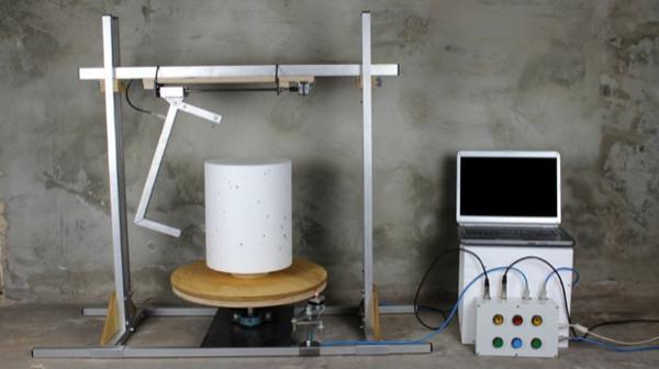 Le son est un objet projet de Bram Amendt