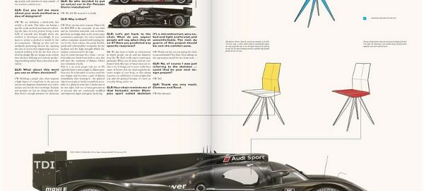 R18 Ultra Chair quand Audi imagine une chaise
