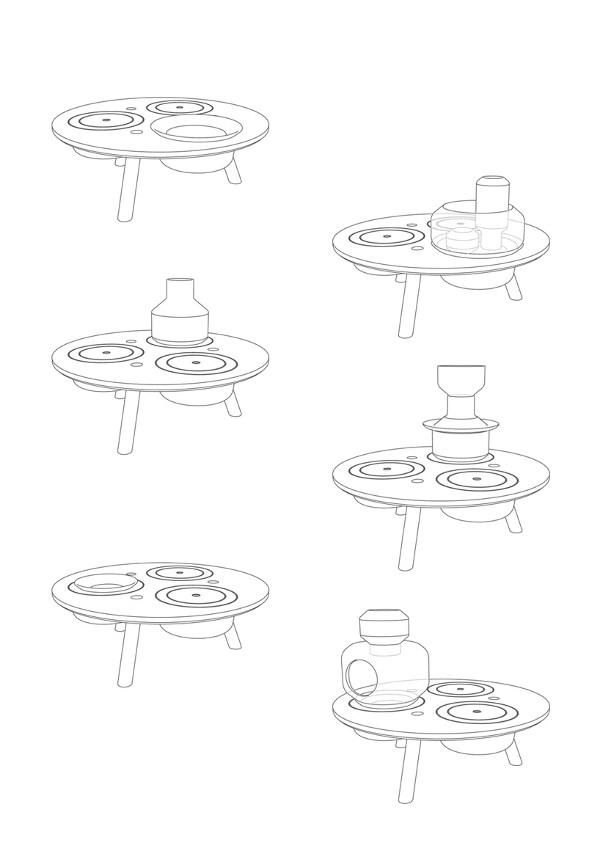 Ability la table à interactions par Alberto Fabbian