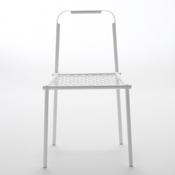 Collection Bamboo Steel le tissage métallique par Nendo