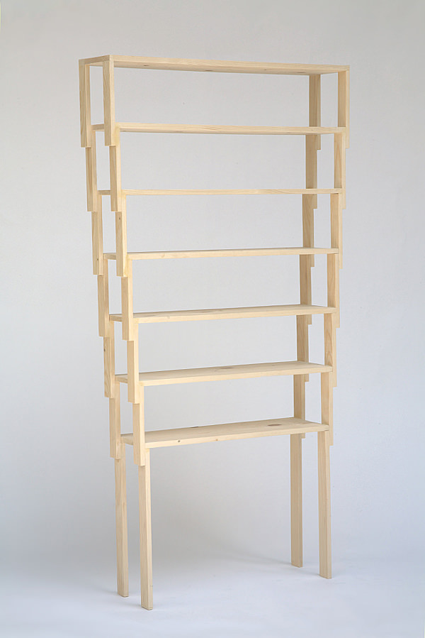Etagère empilable VAC Shelf par Jean-Charles Amey