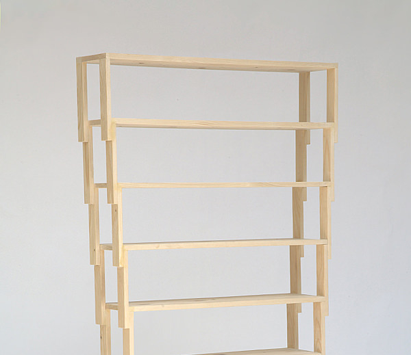 Etagère empilable VAC Shelf par Jean-Charles Amey