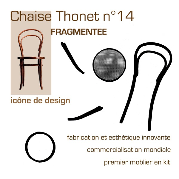 Hommage La Chaise Thonet N14 Par Cline Persouyre