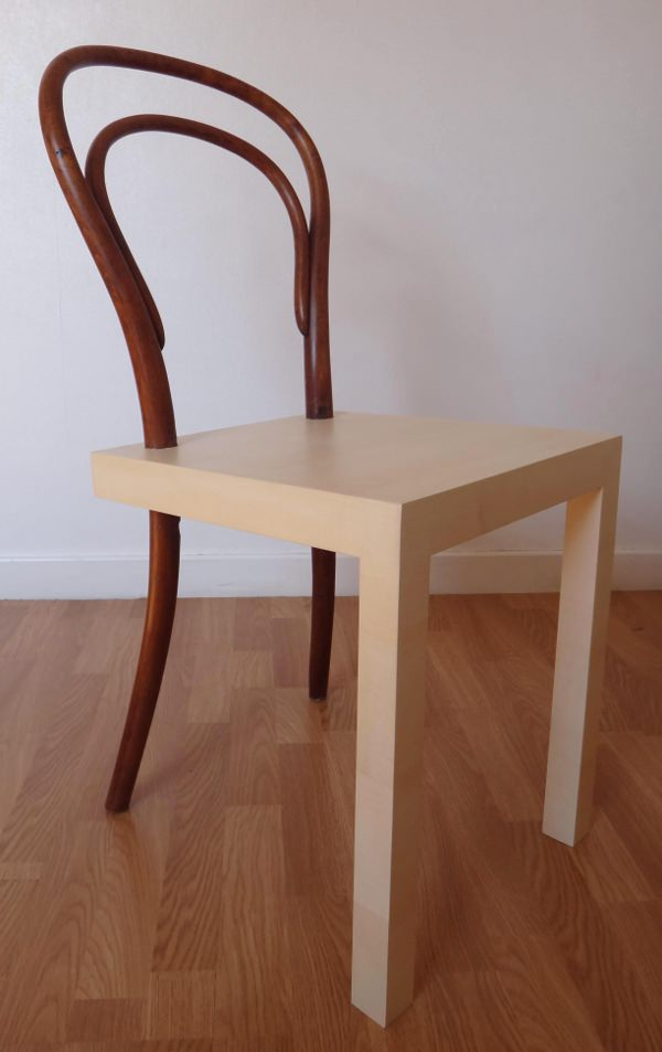 hommage la chaise thonet n 14 par c lia persouyre blog esprit design. Black Bedroom Furniture Sets. Home Design Ideas