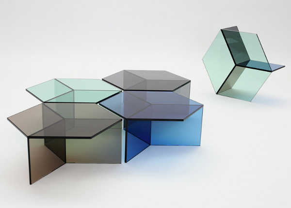 Isom la table de verre par sebastian scherer blog esprit design - Ordre des verres a table ...