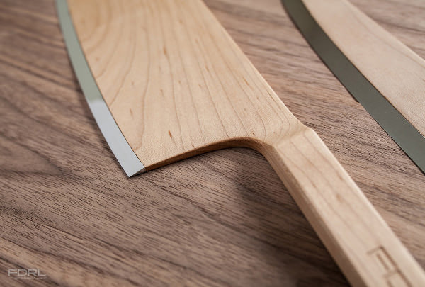Maple Set les couteaux de bois par The Federal