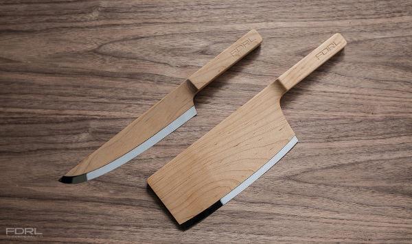 Maple Set Les Couteaux De Bois Par The Federal Blog