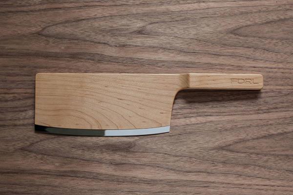 Maple Set les couteaux de bois par The Federal