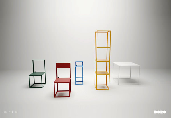 mobilier aria le design du vide par dorolifestyle blog