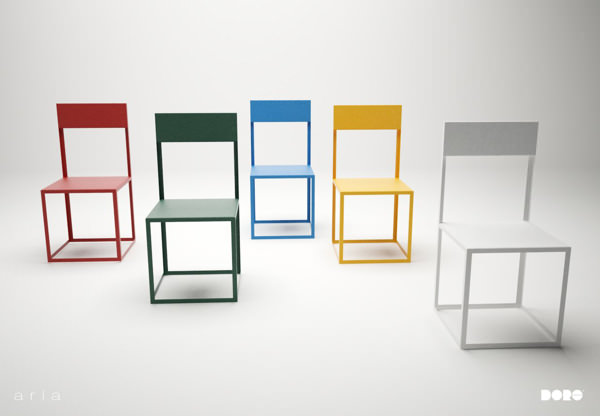 Mobilier aria le design du vide par dorolifestyle blog esprit design - Mobilier de bureau dakar ...