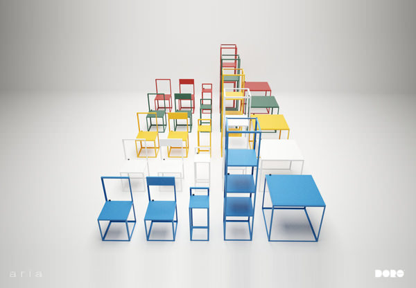 mobilier aria le design du vide par dorolifestyle design