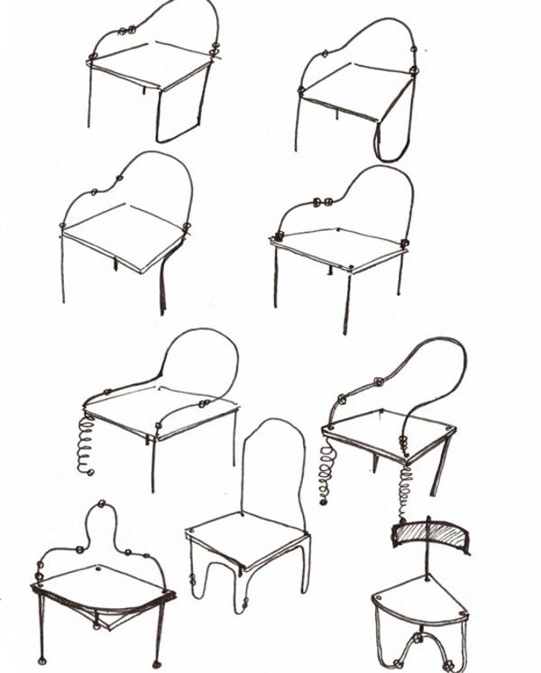 Projet tudiant ceci n est pas une chaise par l o abbate - Ceci n est pas une chaise ...