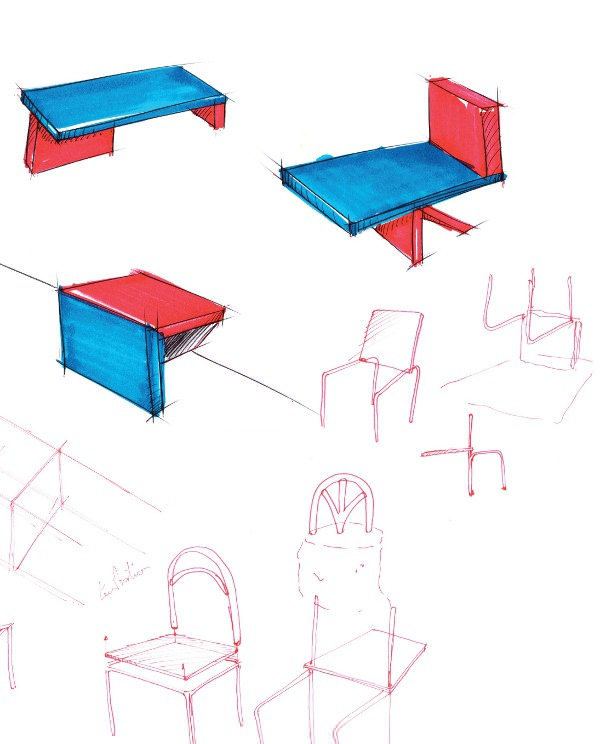 Projet étudiant : Ceci n'est pas une chaise par Léo Abbate