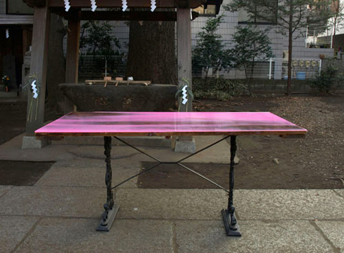 FLAT TABLE, PAR LE BUREAU SCHEMETA