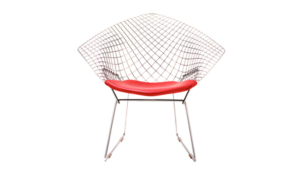 SO DESIGN, SO CULTE : FAUTEUIL DIAMOND