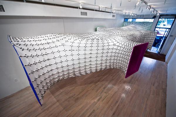 installation futuriste chromatex par softlab blog esprit design. Black Bedroom Furniture Sets. Home Design Ideas