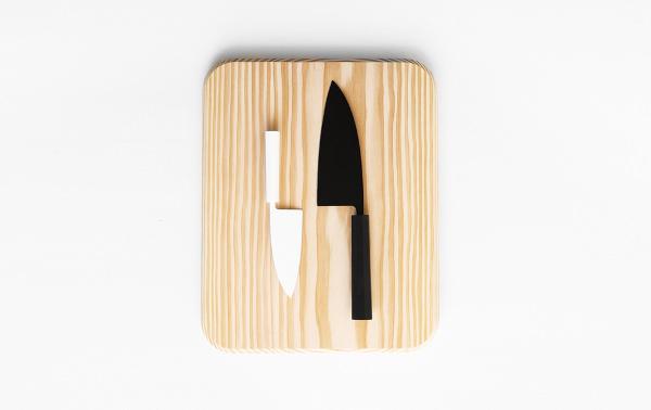 Couteau Silhouette Petter Skogstad le design scandinave au quotidien