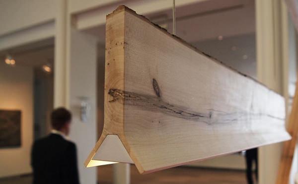 Suspension y par sverre uhnger luminaire light bois deco for Luminaire en bois suspension
