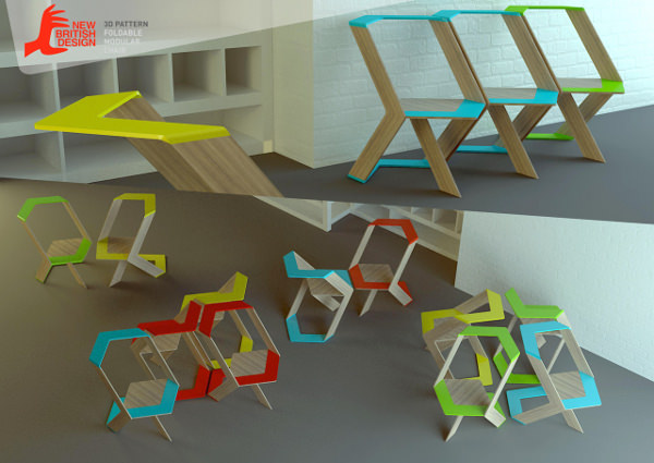 Chaise Pattern par Natalia Romanova