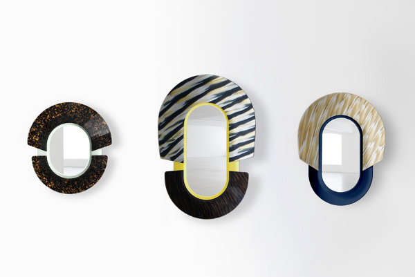Collection mask mirrors par jean baptise fastrez blog for Collection miroir