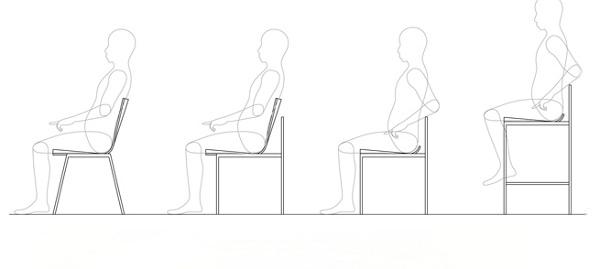 Hanger Chair le design hongrois par Andras Kerekgyarto