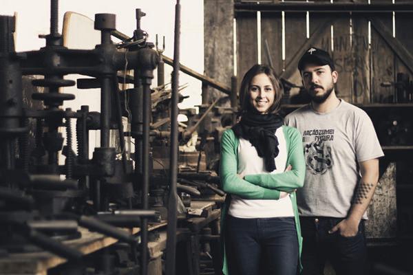 Designer Caroline Armellini et Paulo Biacchi