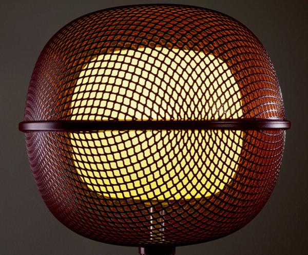 Noctiluque la lampe double peau par Philippe Nigro