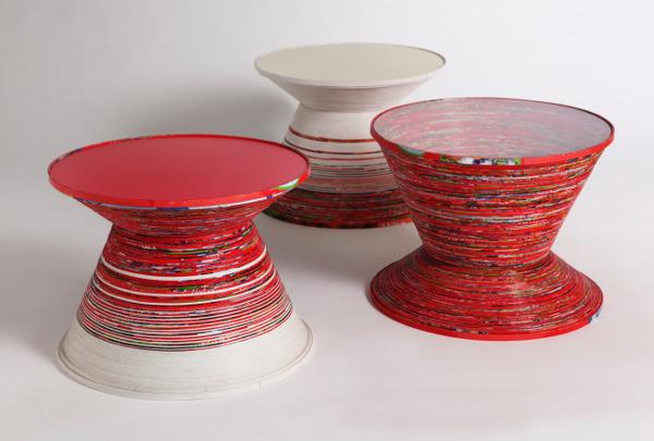 Paper Tables par Verena Stella Gompf et Cordula Kehrer