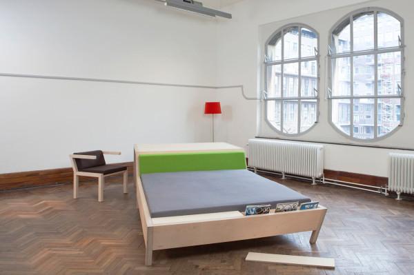 Bed'nTable le tout en un par Erik Griffioen