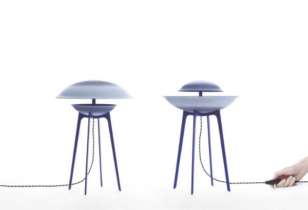 Dessus Dessous objets lumineux par Constance Guisset