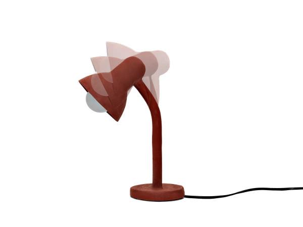 Lampe en caoutchouc par Thomas Shnur