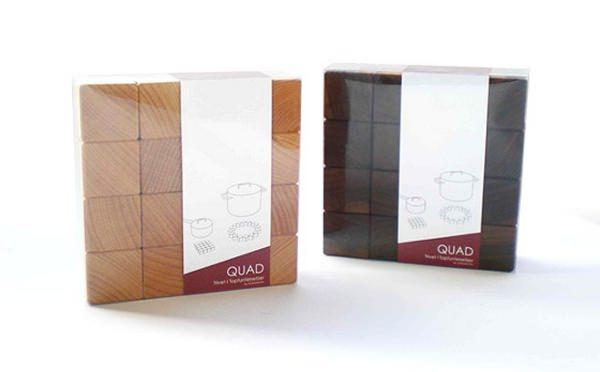 QUAD Trivet le design ajustable par Dewa Bleisinger
