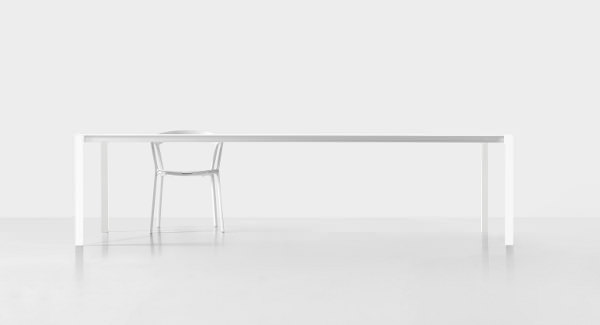 Thin-K la table de 6 mm par Luciano Bertoncini - Blog Esprit Design