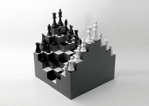 ECHIQUIER 3D PAR JI LEE
