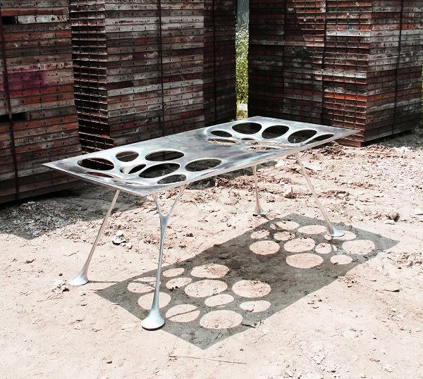 Mobilier futuriste par le studio Il Hoon Roh