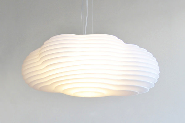 Nuvol lamp la suspension nuage par jordi l pez aguil pour for Suspension luminaire papier