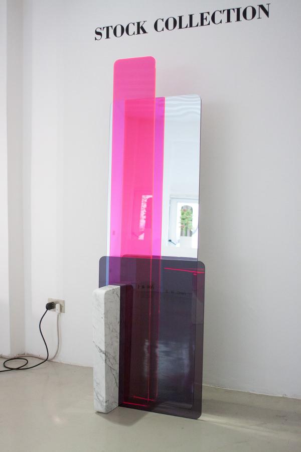 stock collection rencontre entre plexiglas et marbre par giorgia zanellato blog esprit design. Black Bedroom Furniture Sets. Home Design Ideas