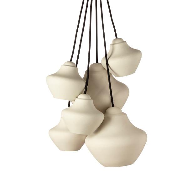 Suspensions CHARI-VARI Verre et porcelaine