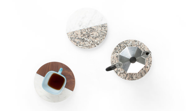 All of a Piece accessoires de table par Dana Cannam Design