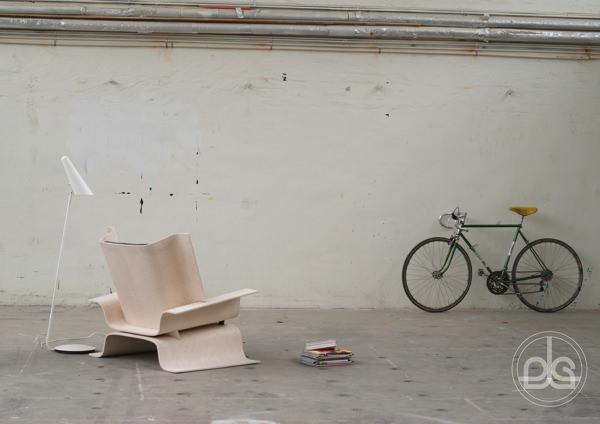 C1 fauteuil compact pour vie compacte par Erik Lyche Solheim