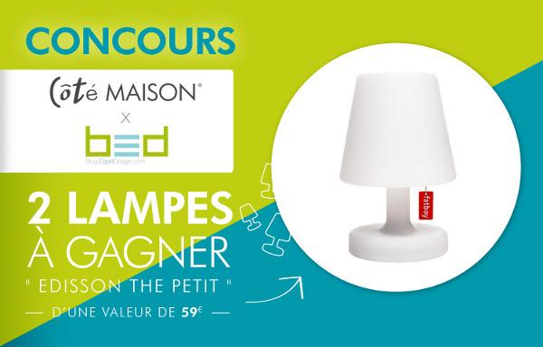 Concours : Gagnez une lampe Edison The Petit Fatboy