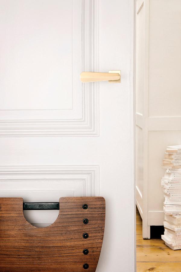 Poignée de porte Phyllibert pour Vervloet- photo ©Jean-François d'Or –Vervloet